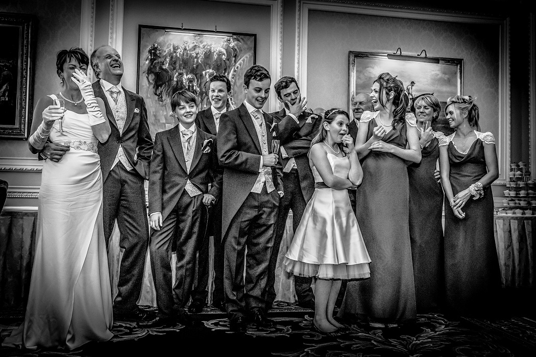 Groomsmen at Pennyhill Park