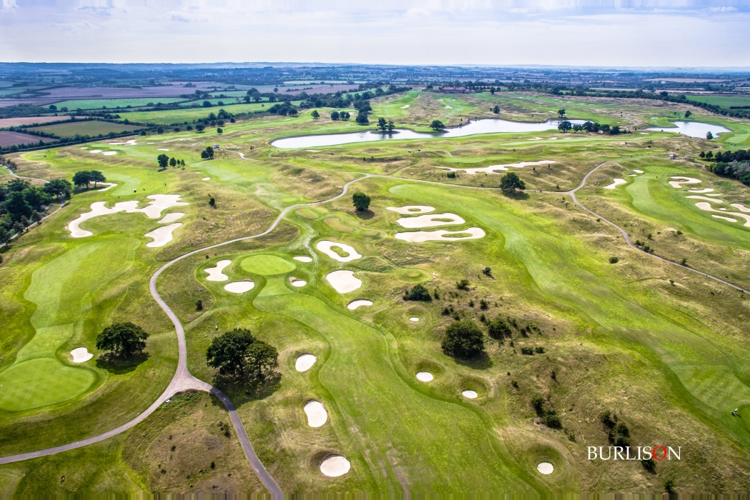 Aerial Golf Photography