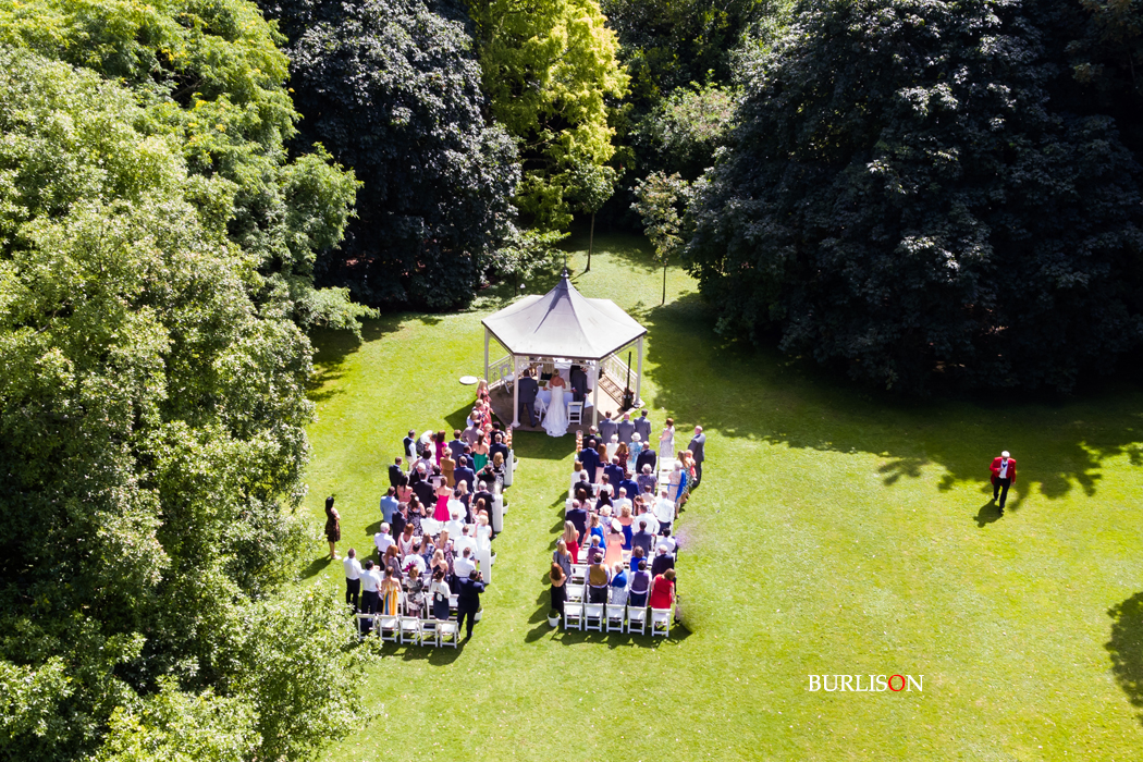Lainston House Aerial Ceremony