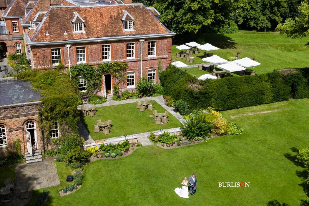 Lainston House Wedding