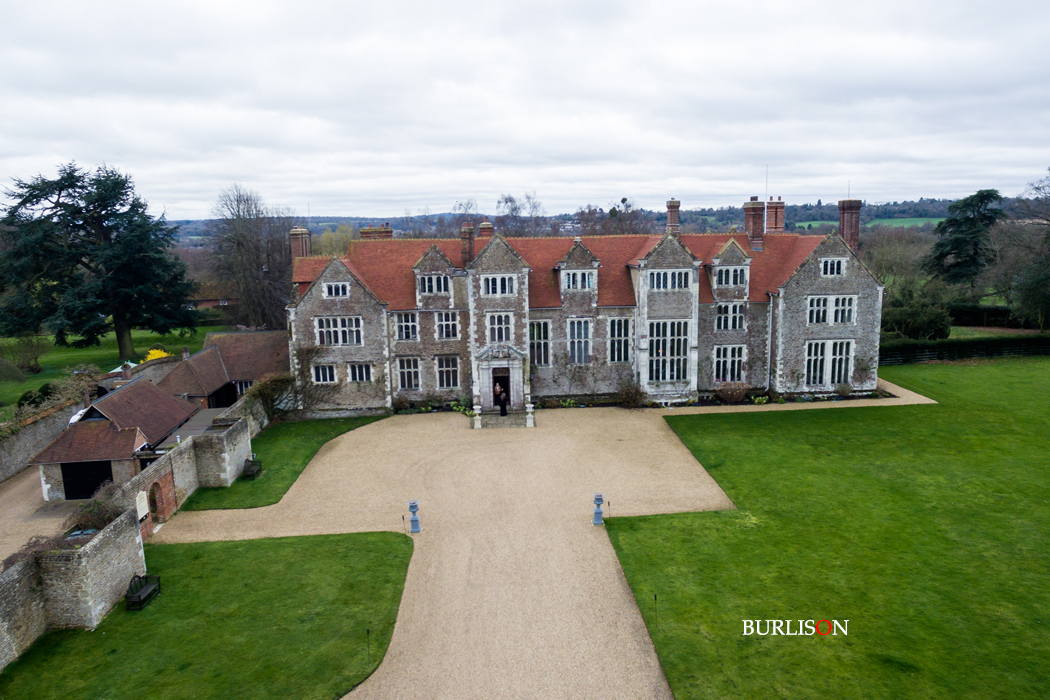 Aerial Photography Loseley Park