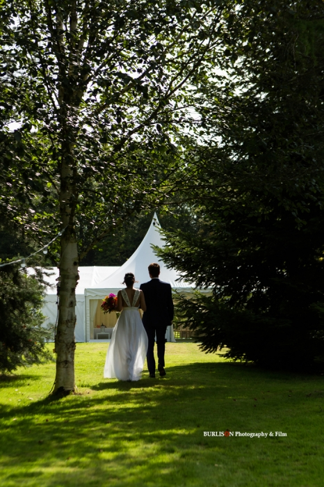 Marquee Wedding, Hampshire