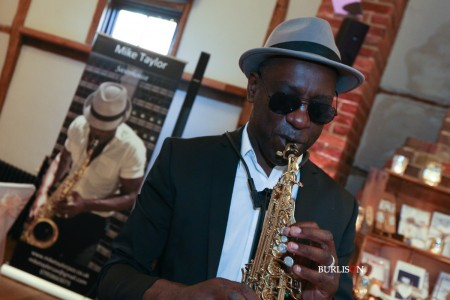 Saxophonist at Lainston House