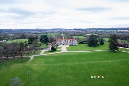 Aerial Drone at Loseley Park