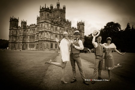 Vintage Garden Party - Highclere Castle