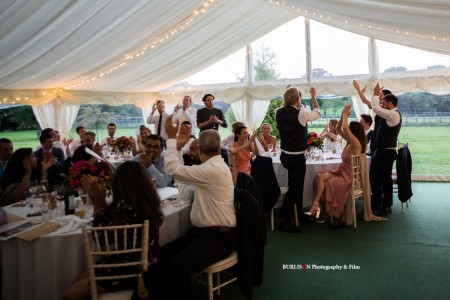 Marquee Wedding New Forest