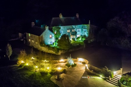 Pengenna Manor, Cornwall - Autumn Aerial Shoot