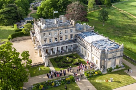 Aerial Wedding Film -  Somerley House