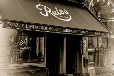 Rules Restaurant, London