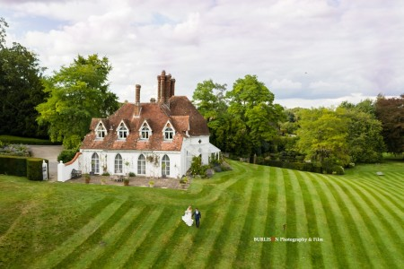 Wedding at Houghton Lodge on the River Test, Hampshire - Sarah & Liam