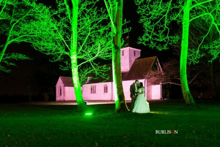 A Romantic Winter Wedding at Wasing Park