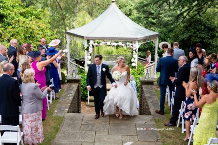 A Summer Wedding at Pennyhill Park, Surrey - Danielle & Ed