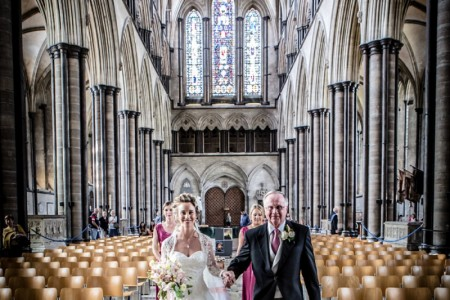 Salisbury Cathedral Wedding