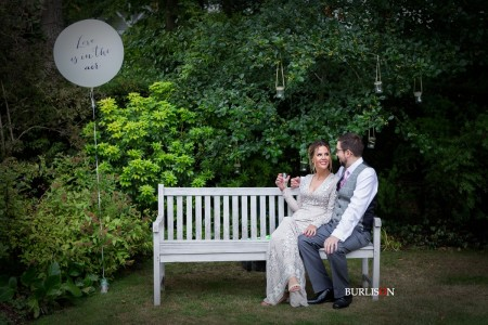 A Stunning Wedding at a Private Residence, Hampshire - Hannah & Brad