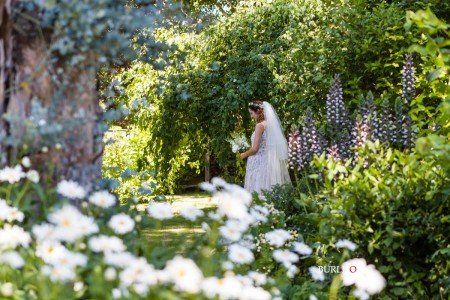 In an English Country Garden - Wedding at Lainston House
