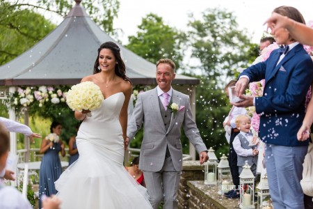 That 'Just Married' feeling at Pennyhill Park