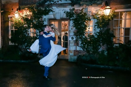 An Autumn Wedding by Candlelight - Lainston House