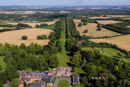 A Birds Eye View - Wedding at Lainston House