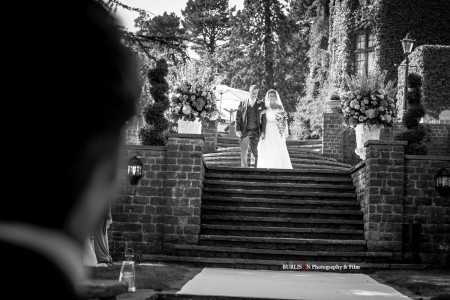 An Outdoor Wedding Ceremony at Pennyhill Park, Surrey - Katy & Gregg