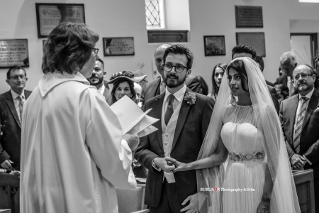 Burley Church Wedding